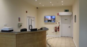 Calmount Office - Reception
