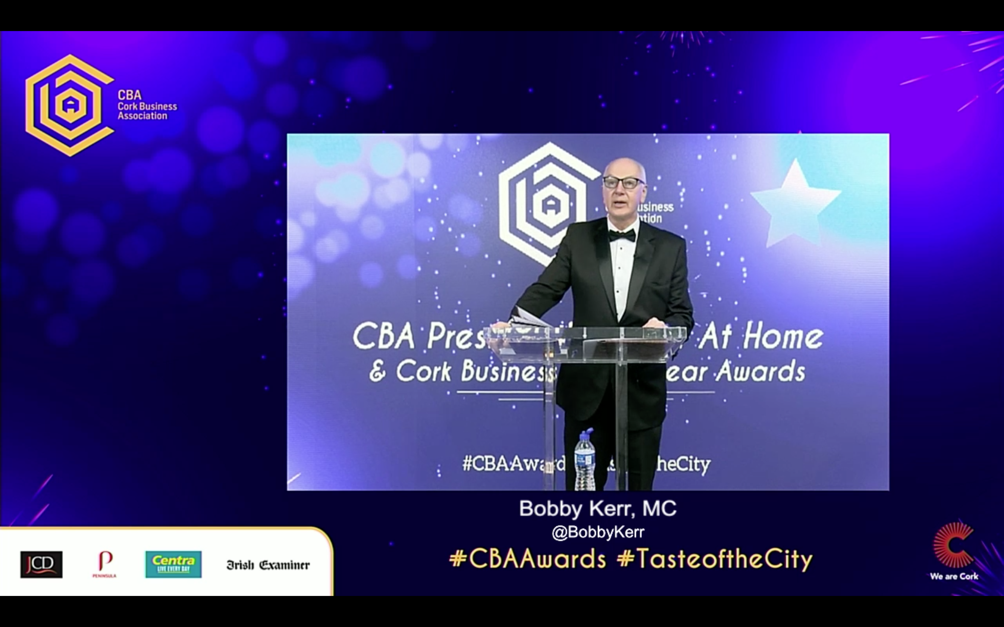 AVC deliver and produce the Cork Business Virtual Awards