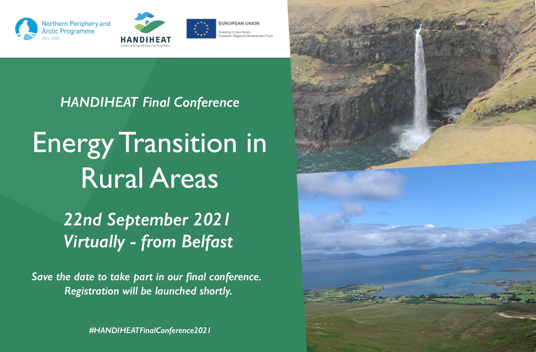 Energy Transition in Rural Areas 22.09.2021 - Virtual Conference from Belfast